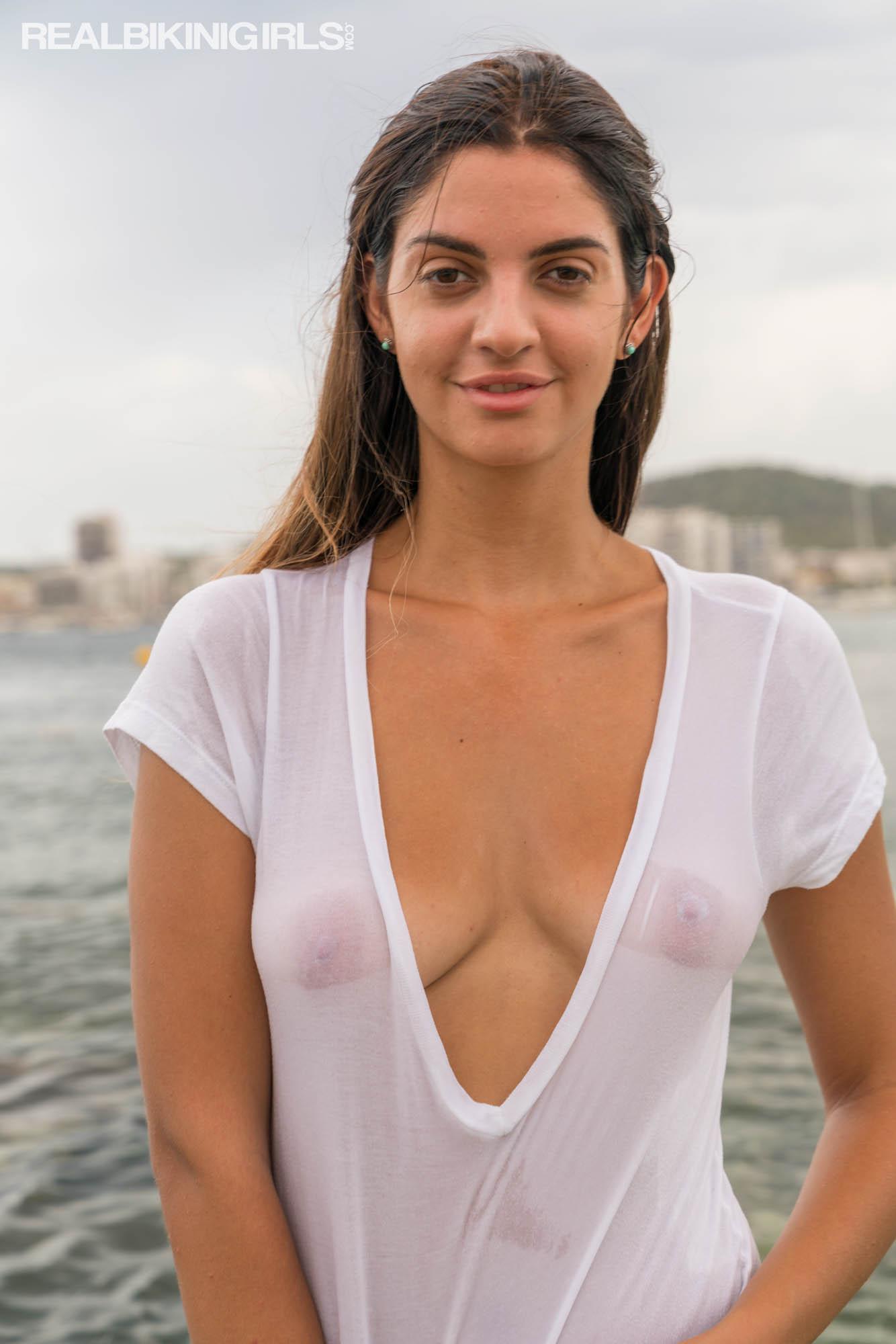 Wet T-Shirt - Free bikini photos from RealBikiniGirls.com